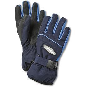Hestra Primaloft 5-vinger Handschoenen Kinderen, dark navy/sky blue